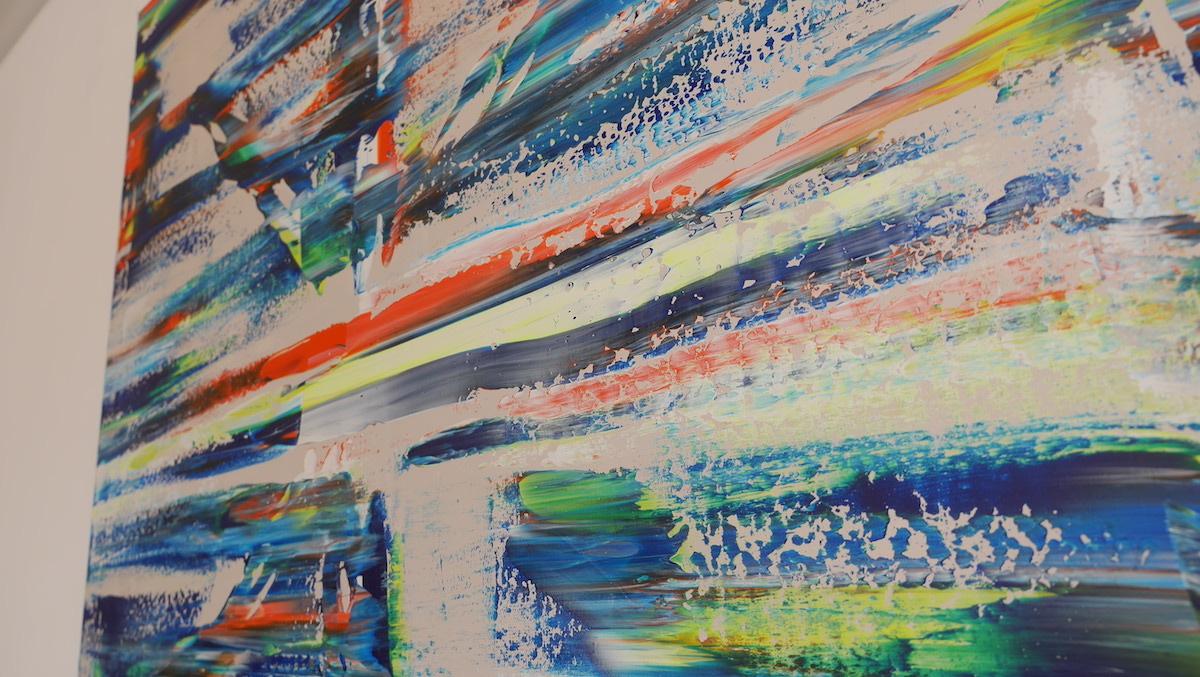 Drapeau anglais ludovic clautour artiste peintre for Artiste peintre anglais